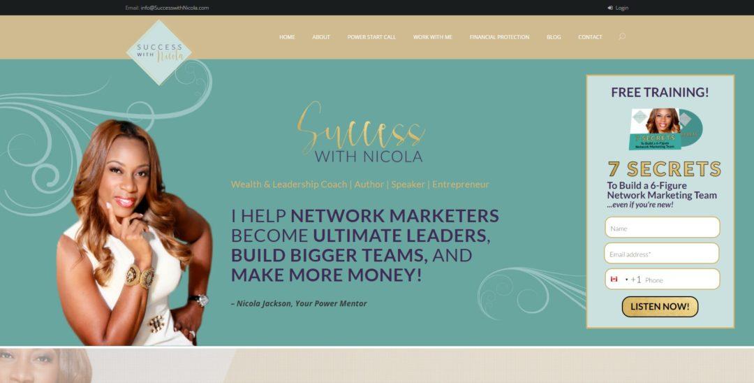 Conversion Makeover: Network Marketing Coach
